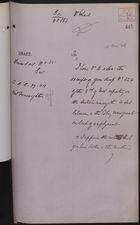 Draft of Letter to Trinidad, December 31, 1906