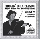 Fiddlin' John Carson: Complete Recorded Works In Chronological Order, Vol. 4