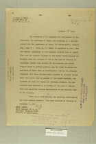 Letter from Secretary of War to Secretary of State, Oct. 15, 1919