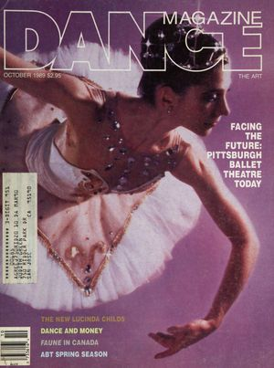 Dance Magazine, Vol. 63, no. 10, October, 1989