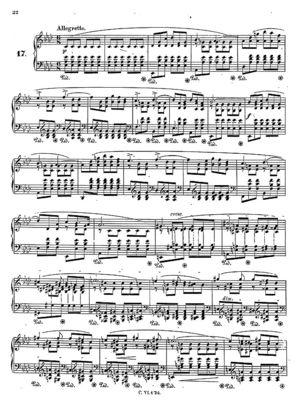 Prelude no.17