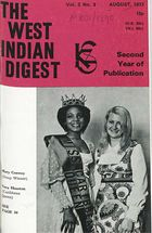 West Indian Digest, August 1972 Vol. 2, No. 3, The West Indian Digest, August 1972 Vol. 2, No. 3