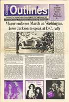 Chicago Outlines The Voice of the Gay and Lesbian Community Vol. 1 No. 19 October 8, 1987