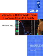 Vision for a Better World: From Economic Crisis to Equality
