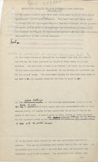 Draft - Agricultural Notes for the Lord President's Press Conference June 4, 1947