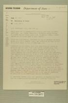 Telegram from Ivan B. White in Tel Aviv to Secretary of State, May 2, 1956