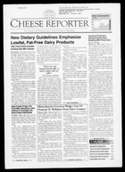 Cheese Reporter, Vol. 124, No. 47, Friday, June 2, 2000
