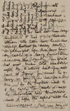 Letter from Jessie Love to Robert Jack, October 12, 1893