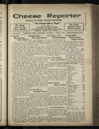 Cheese Reporter, Vol. 54, no. 26, Saturday, March 8, 1930