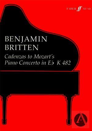 Cadenzas to Mozart's Piano Concerto in E♭ K 482