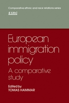 Comparative ethnic and race relations, European Immigration Policy: A Comparative Study