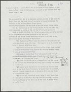 Bill to Amend the Wild and Scenic Rivers Act [from Maggie Fox], [undated]