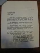 Stanley Milgram to Robert Frager, February 25, 1966