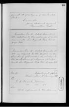 Letters from Hamilton Fish to Ebenezer Bassett, 1872