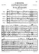 2 Menuette, K. 604