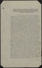 Minute re: Sir Frank Stockdale Proposal to Establish a Large Jewish Settlement in British Guiana, circa 1940