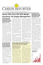 Cheese Reporter, Vol. 138, No. 32, Friday, January 31, 2014