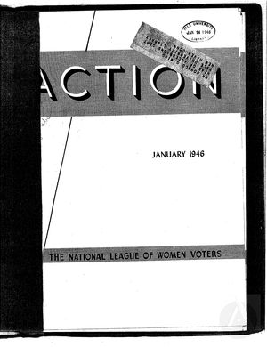 Action, vol. 2 no. 1, January 1946