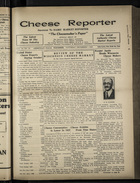 Cheese Reporter, Vol. 54, no. 13, Saturday, December 7, 1929