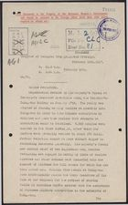 Deciphered Telegram from Mr. Beilby Alston to Foreign Office re: Chinese Labour Recruitment, February 19, 1917