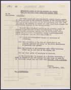 Memo from David Heron to M.P. Roseveare re: Minister's Report to the War Cabinet for the Four Weeks Ending 29th August, 1942