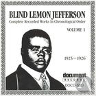 Blind Lemon Jefferson Vol. 1 (1925-1926)
