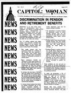 Capitol: Woman, vol. 1 no. 4, August 1973