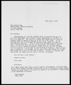 Letter from MG to Barbara Pym, 15 Aug. 1973