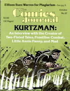 an INTERVIEW with the man who brought truth to the comics HARVEY KURTZMAN