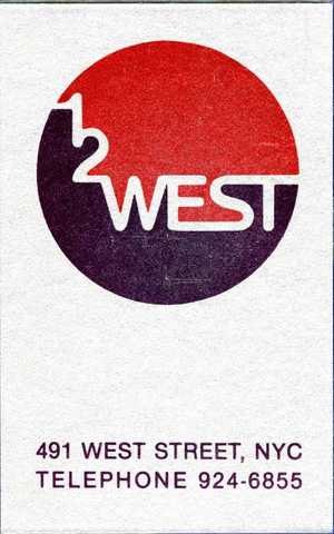 12 West Membership Card for D. Cohen