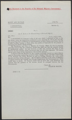 Letter from Sir F. Bertie to Sir Edward Grey, July 6, 1912