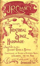 Catalogue of Theatrical Stage Hardware, no. 9