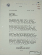 Letter from Theodore L. Eliot, Jr. to Armin H. Meyer, October 19, 1966