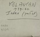 Kelantan 1939-40 Index (Partial)