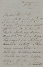 Letter from Anna Maria King to William Leslie, May 4, 1843