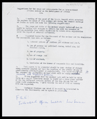 Suggestions for the scope and arrangements for an International African Seminar on the development of African Law [24 Apr. 1964]