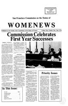 Womenews San Francisco, vol. 1 no. 1, June 1976