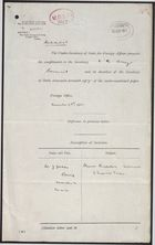 Correspondence re: Movement and Disposition of Imperial Troops, November 4-28, 1911