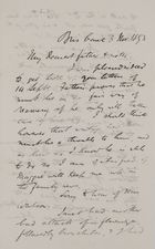 Letter from Robert Logan Jack to Robert and Maggie Jack, November 3, 1893