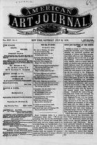 American Art Journal, Vol. 25, no. 8, July 22, 1876