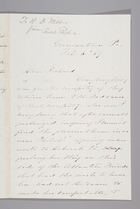 Letter from Sarah Pugh to Richard D. Webb, February 6, 1869