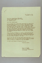Letter from Mary van Kleeck and Susan B. Anthony (II) to Rose Schneiderman, November 8, 1945