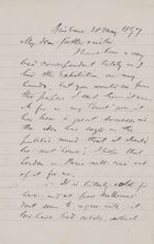 Letters from Robert Logan and Janet Love Jack to Robert and Maggie Jack, May 30, 1897