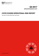 Cote d'Ivoire Operational Risk Report: Q3 2017