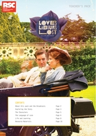 Young Shakespeare Nation, Love's Labour's Lost Teacher Pack
