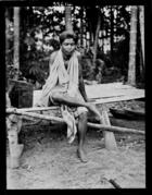 Siamese man from village of Ban-Sai Kau