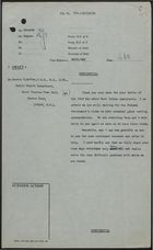Draft Minute from Colonial Office to Dr. Dennis H. Geffen re: Housing for West Indian Immigrants, June 1, 1959