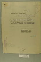 Memo from Henry Jervey re: Wounding of Mexican Citizens by Shots Fired Across the Border, July 14, 1918
