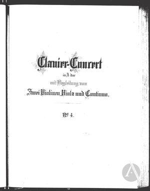 Clavier-Concert IV