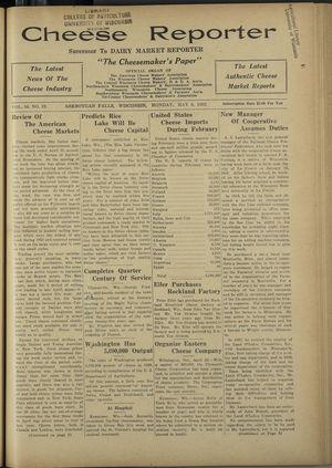 Cheese Reporter, Vol. 56, no. 35, May 9, 1932